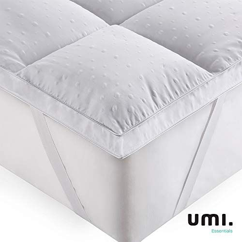 Mattress Topper With Double Deck Airflow Cover Mattress Pad New Breathable Structure And Ultra Soft Mattress Topper Cove Mattress Mattress Pad Mattress Topper