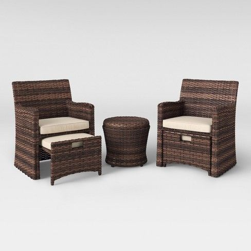 Bring Some Classic Style And Easy Comfort To Any Outdoor Living Space With The Halsted Patio Seating Sets Wicker Patio Furniture Set Resin Patio Furniture
