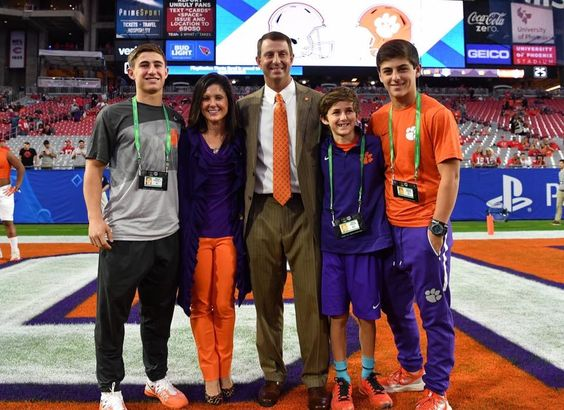 Dabo and family