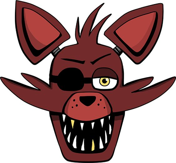 Foxy Head By Kaizerin.deviantart.com On @DeviantArt