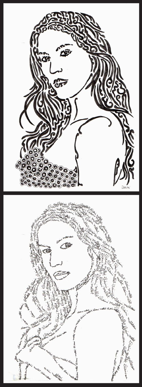 Ilustração com caneta hidrocor