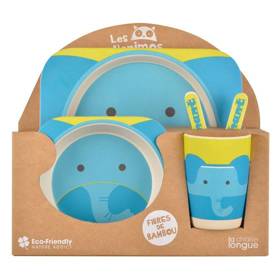 KIDS LUNCH SET ELEPHANT: