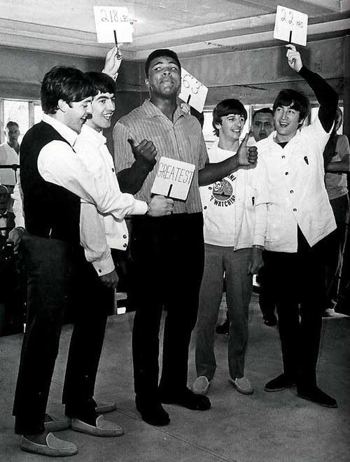 Wait.. Who's the greatest? The Beatles and Muhammad Ali