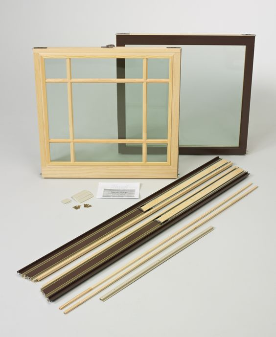 Transcend double hung sash replacement system hurd for Window sash replacement
