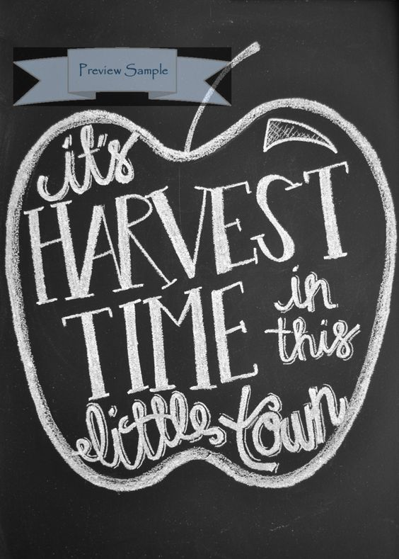 Check this out!!!   It's Harvest Time in this Little by CChalkies on Etsy