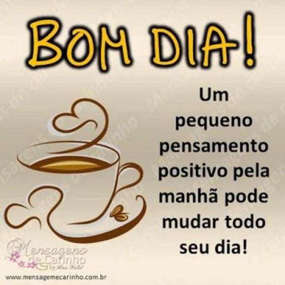 Um dia positivo a todos
