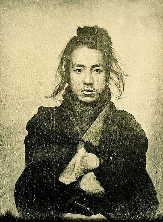 nineteenth century japanese man.