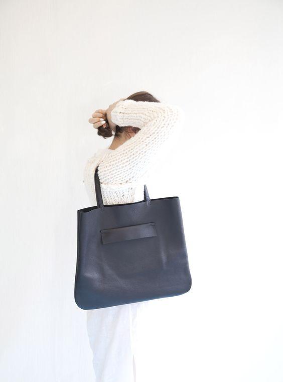 Baba Klava Leather Bag Lubochka http://lubochka.bigcartel.com