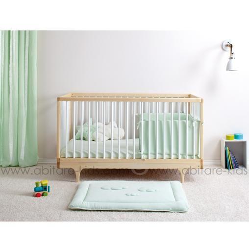 Cadum mint by babyboum tour de lit b b 36x180 cm vert Chambre bebe vert menthe