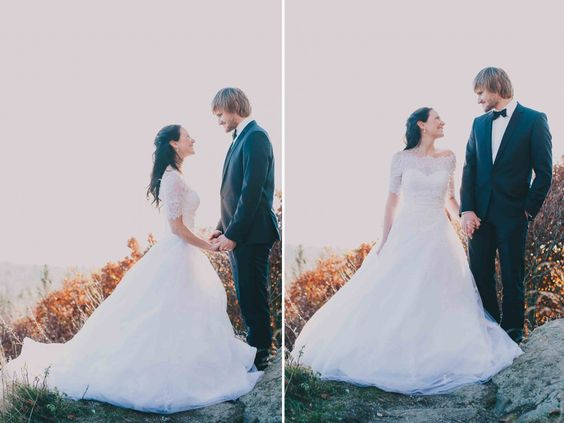 Tanja und Hanse - Into the woods, After-Wedding-Shooting im Wald