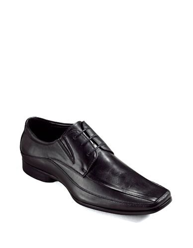 Kenneth Cole Reaction Field Note Lace-Up Loafers Men's Black 10