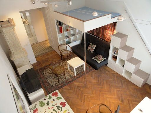 Loft+Beds+For+Adults   SMALL APARTMENT WITH 2 LOFT BEDS. CAN SLEEP ...