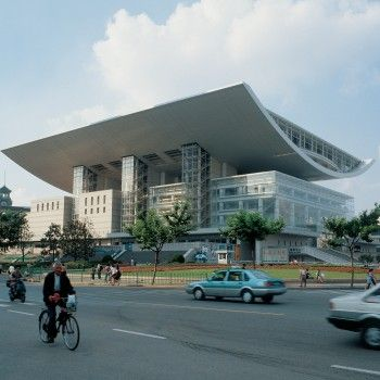 Shanghai Grand Theatre by Charpentier Architectes