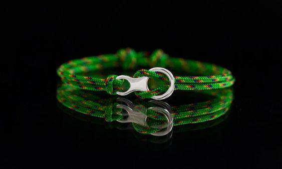 Figure 8 Descender bracelet sterling silver 925 by ExJe on Etsy