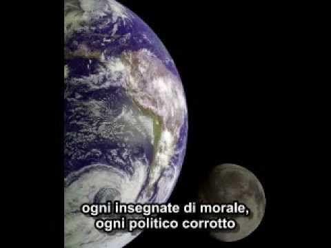 Carl Sagan's inspirational Pale Blue Dot monologue, with Italian subs.