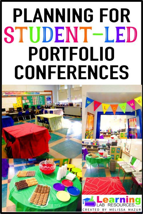 Learn how to prepare for student led portfolio conferences. Read about tips on how to make everything run smoothly.