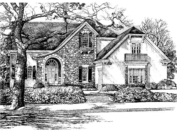 Phenomenal Eplans French Country House Plan St Marie From The Southern Inspirational Interior Design Netriciaus