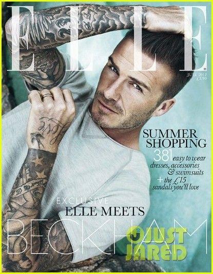 David Beckham - 'Elle UK'