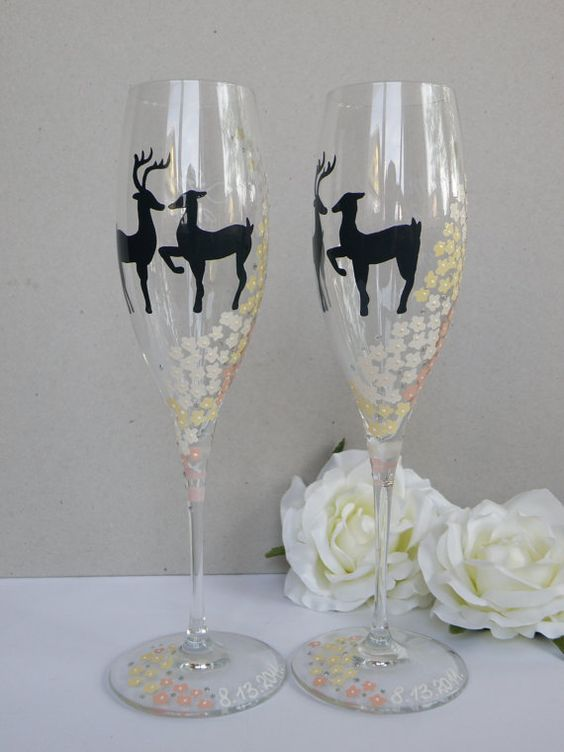 Hey, I found this really awesome Etsy listing at http://www.etsy.com/listing/81627176/hand-painted-wedding-toasting-flutes-set