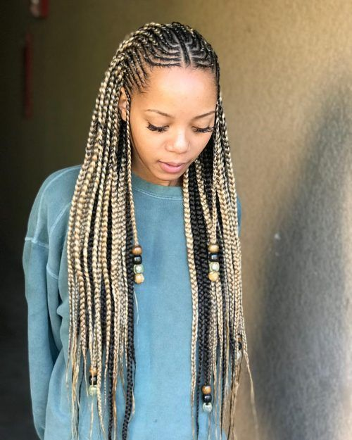 17 Best Ghana Weaving Styles Braids Hairstyles For 2020 With