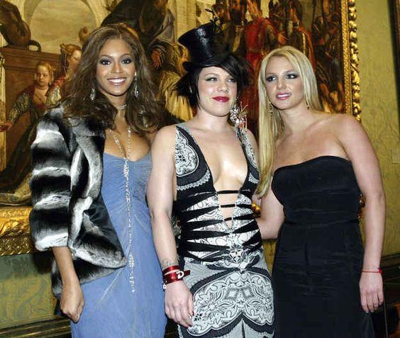 Beyoncé  Pink & Britney.