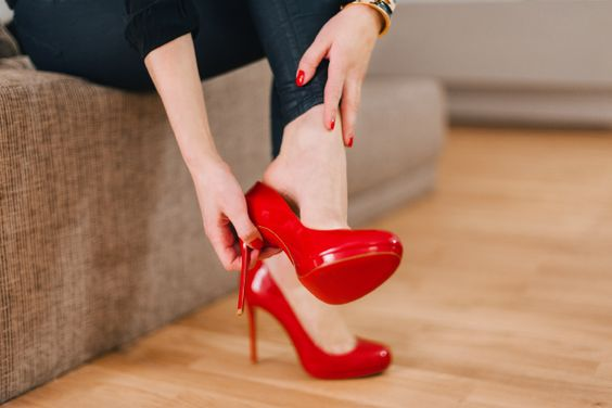 Red Louboutins