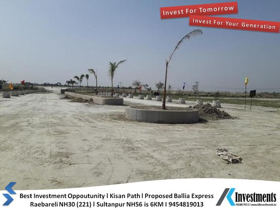 Plots in Lucknow on EMI Basis Nagram Road