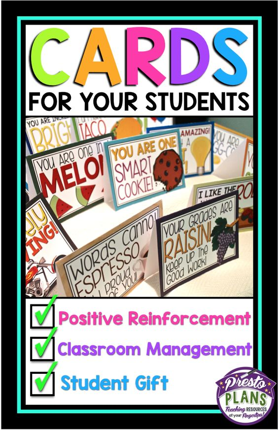 Keep these 15 ready-to-print cards tucked away in your desk for an occasion when a student surprises or impresses you! This is quick and easy way to show your students you care about them and notice when they do something special.