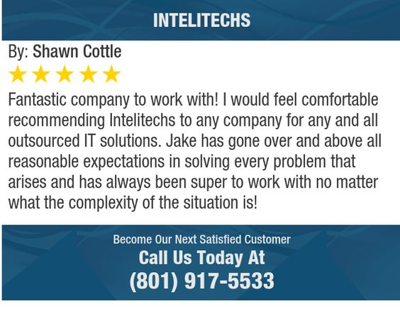Fantastic company to work with! I would feel comfortable recommending Intelitechs to any...