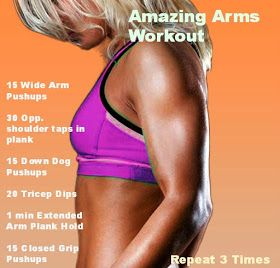 Sweet Baby Pate: Fit Friday~ Ripped Arm Workout