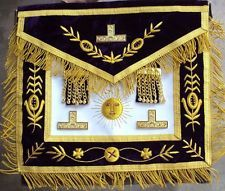 MASONIC REGALIA GRAND MASTER APRON PURPLE