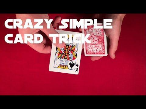 Amazingly Simple Beginner Card Trick In 2020 Easy Card Tricks Card Tricks Magic Tricks For Beginners