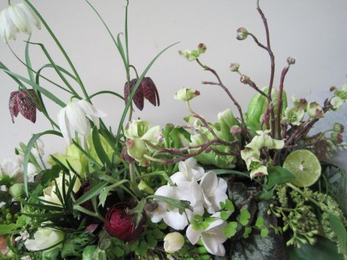 Love these floral arrangements by Françoise Weeks.