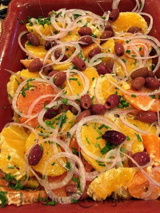 Orange and Onion Salad - Jackcyn Redesign