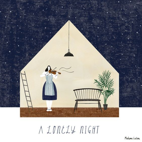 A Lonely Night ⓒ Madame Lolina