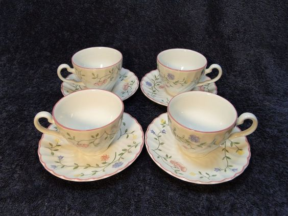 Johnson Brothers Summer Chintz Tea Cup and Saucer sets - FOUR 4 Multi Avail EUC! & Details about Johnson Brothers Summer Chintz Tea Cup and Saucer sets ...
