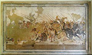 Tactique militaire utilisée par Alexandre le Grand — Wikipédia