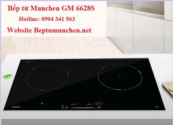 Bếp từ Munchen GM 6628S có thời gian bảo hành bao lâu?
