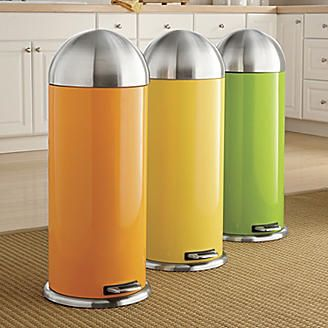 Yellow Kitchen Garbage Cans Utmebs