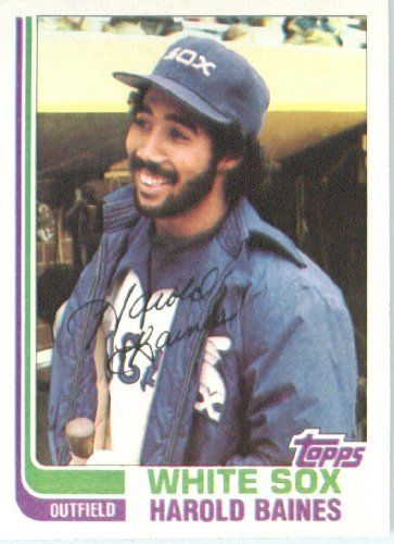 1982 Topps # 684 Harold Baines Chicago White Sox Baseball Card by Topps. $2.95. 1982 Topps #684 - Harold Baines