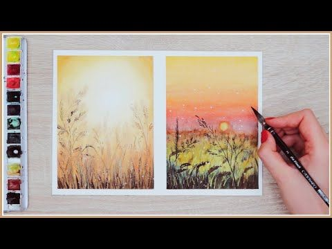 Little Known Watercolor Painting Technique That Ll Instantly