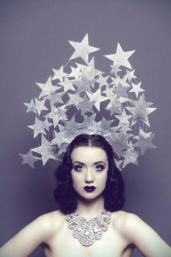 Star Headdress | C/o www.pinterest.com/ShandellMyers/sparklesdarknessthisthat/