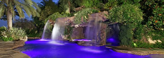 Swimming swimming pools and exotic on pinterest for Pool design los angeles ca