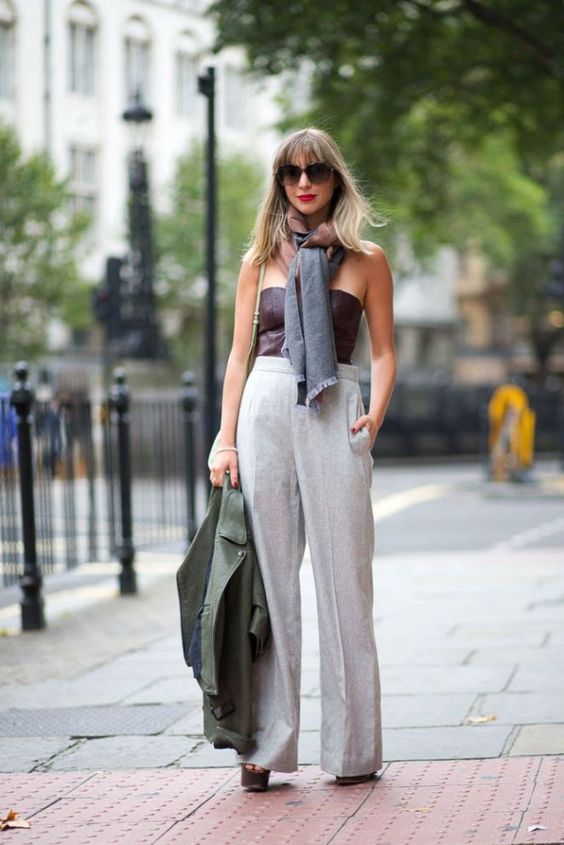 Street Style : London Calling: Street Style Spring 2015   HarpersBAZAAR.com
