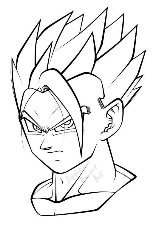 Pin By Sol Casanas On Tattoos Goku Drawing Dragon Ball Painting Dragon Ball Super Artwork