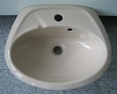 Waschtisch Waschbecken bahamabeige 60 cm x 46,5 cm *