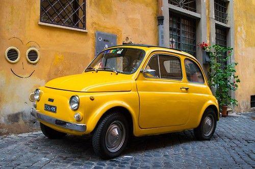 Fiat 500 viawetravelandblog | The Classic Car Feed - Classic and antique cars | wetravelandblog November 2014