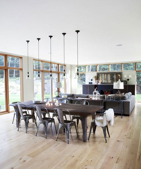 Open plan. Love everything about this one. Can't remember where it came from.