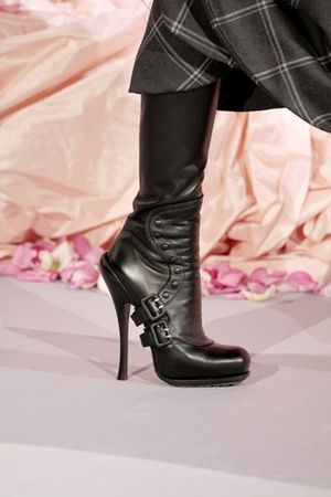 Christian Dior Spring 2010 Couture Boots