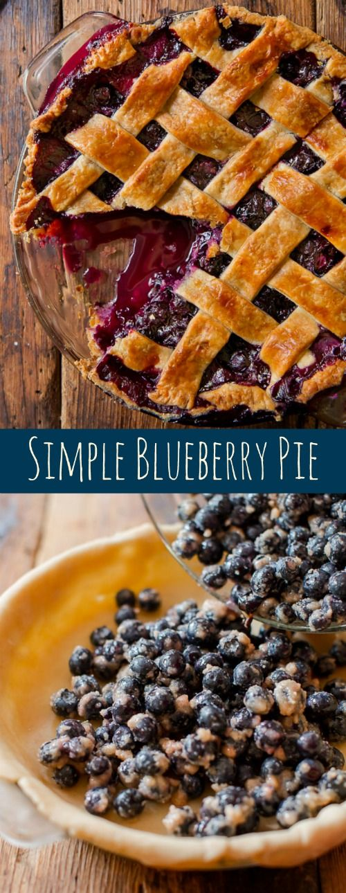 Want a blueberry pie recipe that stands the test of time? This one is it! Recipe and homemade pie crust on sallysbakingaddiction.com